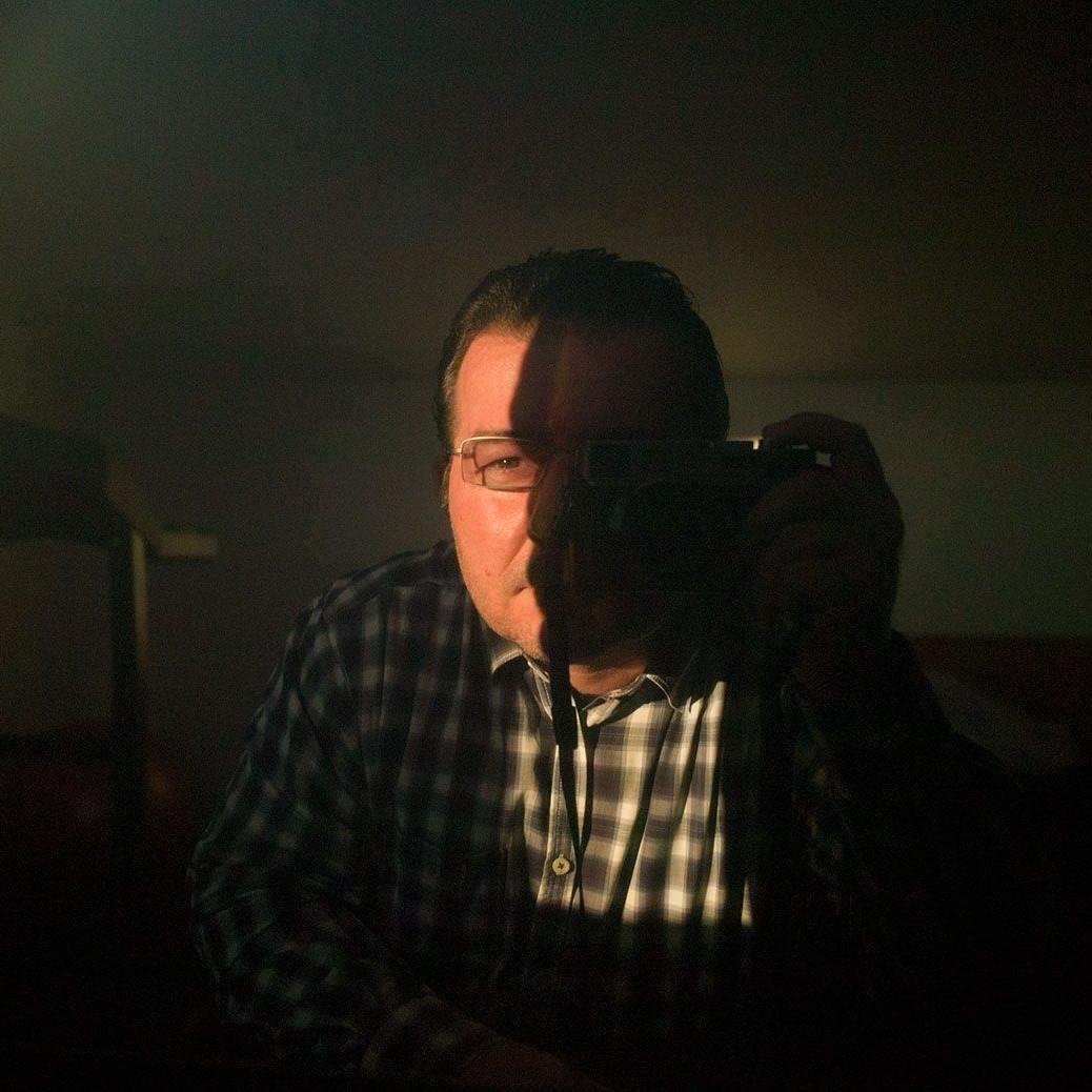 Mircea Albutiu self portrait